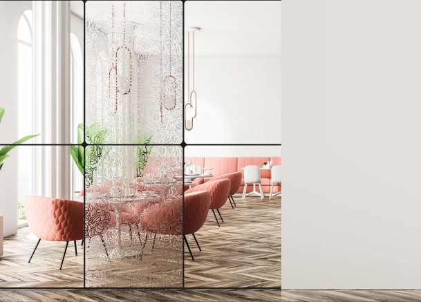 Decorative patterned window films | Interior decoration