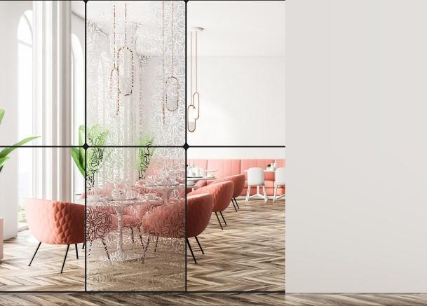 Films décoratifs à motif pour vitrage    Décoration intérieur