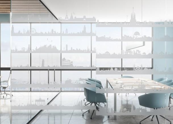 Decorative friezes window films | Interior decoration